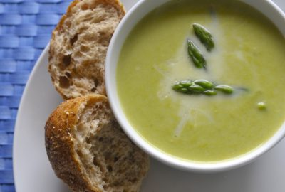 Asparagus-Soup from A Passionate Plate Blog