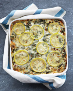 Sausage, Chard, and Lemon Lasagna from Martha Stewart